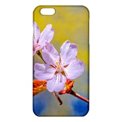 Sakura Flowers On Yellow Iphone 6 Plus/6s Plus Tpu Case by FunnyCow