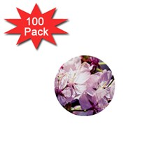 Sakura In The Shade 1  Mini Buttons (100 Pack)  by FunnyCow