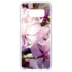 Sakura In The Shade Samsung Galaxy S8 White Seamless Case by FunnyCow