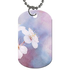 Pink Mist Of Sakura Dog Tag (two Sides) by FunnyCow