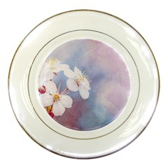 Pink Mist Of Sakura Porcelain Plates by FunnyCow