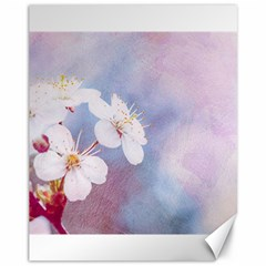 Pink Mist Of Sakura Canvas 11  X 14   by FunnyCow