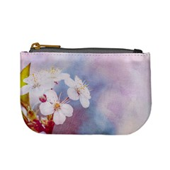 Pink Mist Of Sakura Mini Coin Purses by FunnyCow