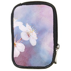 Pink Mist Of Sakura Compact Camera Cases by FunnyCow