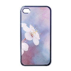 Pink Mist Of Sakura Apple Iphone 4 Case (black) by FunnyCow