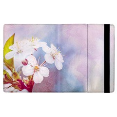 Pink Mist Of Sakura Apple Ipad 3/4 Flip Case by FunnyCow