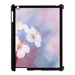 Pink Mist Of Sakura Apple Ipad 3/4 Case (black) by FunnyCow