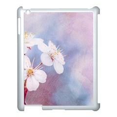 Pink Mist Of Sakura Apple Ipad 3/4 Case (white) by FunnyCow