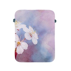 Pink Mist Of Sakura Apple Ipad 2/3/4 Protective Soft Cases by FunnyCow