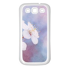 Pink Mist Of Sakura Samsung Galaxy S3 Back Case (white) by FunnyCow