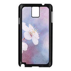 Pink Mist Of Sakura Samsung Galaxy Note 3 N9005 Case (black) by FunnyCow
