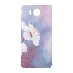 Pink Mist Of Sakura Samsung Galaxy Alpha Hardshell Back Case by FunnyCow