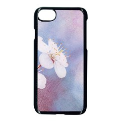 Pink Mist Of Sakura Apple Iphone 8 Seamless Case (black) by FunnyCow