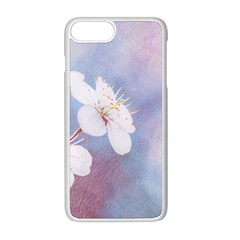 Pink Mist Of Sakura Apple Iphone 8 Plus Seamless Case (white) by FunnyCow