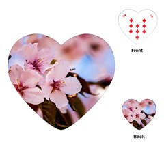 Three Sakura Flowers Playing Cards (heart)  by FunnyCow