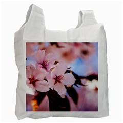 Three Sakura Flowers Recycle Bag (one Side) by FunnyCow