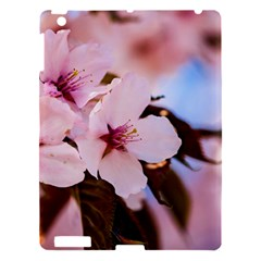 Three Sakura Flowers Apple Ipad 3/4 Hardshell Case by FunnyCow