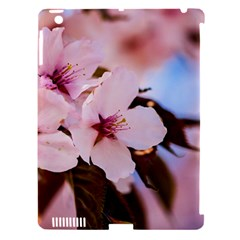 Three Sakura Flowers Apple Ipad 3/4 Hardshell Case (compatible With Smart Cover) by FunnyCow