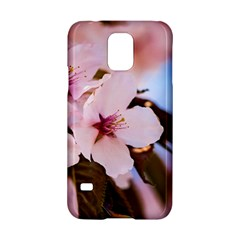 Three Sakura Flowers Samsung Galaxy S5 Hardshell Case  by FunnyCow