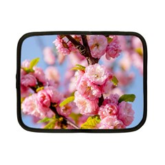 Flowering Almond Flowersg Netbook Case (small)  by FunnyCow