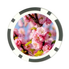Flowering Almond Flowersg Poker Chip Card Guard (10 Pack) by FunnyCow