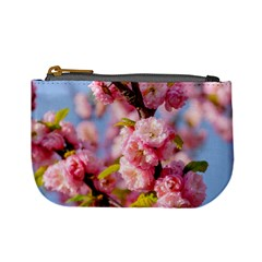 Flowering Almond Flowersg Mini Coin Purses by FunnyCow