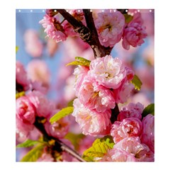 Flowering Almond Flowersg Shower Curtain 66  X 72  (large)  by FunnyCow
