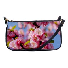 Flowering Almond Flowersg Shoulder Clutch Bags by FunnyCow