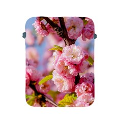 Flowering Almond Flowersg Apple Ipad 2/3/4 Protective Soft Cases by FunnyCow