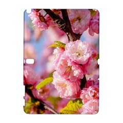 Flowering Almond Flowersg Samsung Galaxy Note 10 1 (p600) Hardshell Case by FunnyCow
