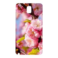 Flowering Almond Flowersg Samsung Galaxy Note 3 N9005 Hardshell Back Case by FunnyCow