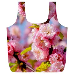 Flowering Almond Flowersg Full Print Recycle Bags (l)  by FunnyCow