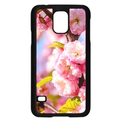 Flowering Almond Flowersg Samsung Galaxy S5 Case (black) by FunnyCow