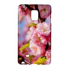 Flowering Almond Flowersg Samsung Galaxy Note Edge Hardshell Case by FunnyCow