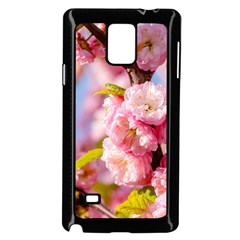 Flowering Almond Flowersg Samsung Galaxy Note 4 Case (black) by FunnyCow