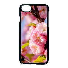 Flowering Almond Flowersg Apple Iphone 8 Seamless Case (black) by FunnyCow