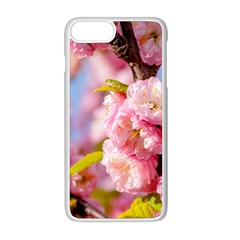 Flowering Almond Flowersg Apple Iphone 8 Plus Seamless Case (white) by FunnyCow