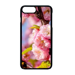 Flowering Almond Flowersg Apple Iphone 8 Plus Seamless Case (black) by FunnyCow