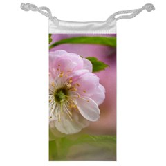 Single Almond Flower Jewelry Bags by FunnyCow