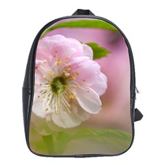 Single Almond Flower School Bag (large) by FunnyCow