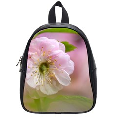 Single Almond Flower School Bag (small) by FunnyCow