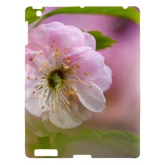 Single Almond Flower Apple Ipad 3/4 Hardshell Case by FunnyCow