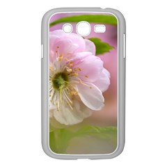 Single Almond Flower Samsung Galaxy Grand Duos I9082 Case (white) by FunnyCow