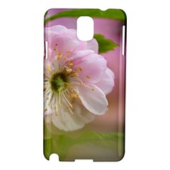 Single Almond Flower Samsung Galaxy Note 3 N9005 Hardshell Case by FunnyCow