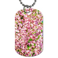 Almond Tree In Bloom Dog Tag (two Sides) by FunnyCow