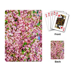 Almond Tree In Bloom Playing Card by FunnyCow