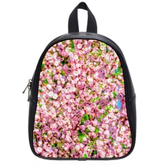 Almond Tree In Bloom School Bag (small) by FunnyCow