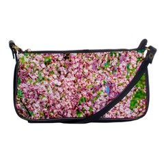 Almond Tree In Bloom Shoulder Clutch Bags by FunnyCow