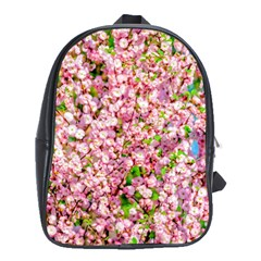 Almond Tree In Bloom School Bag (xl) by FunnyCow