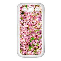 Almond Tree In Bloom Samsung Galaxy S3 Back Case (white) by FunnyCow